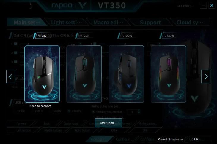RAPOO VT350 01