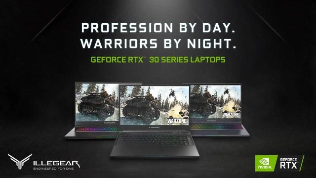 ILLEGEAR RTX 3000 Laptop Refresh