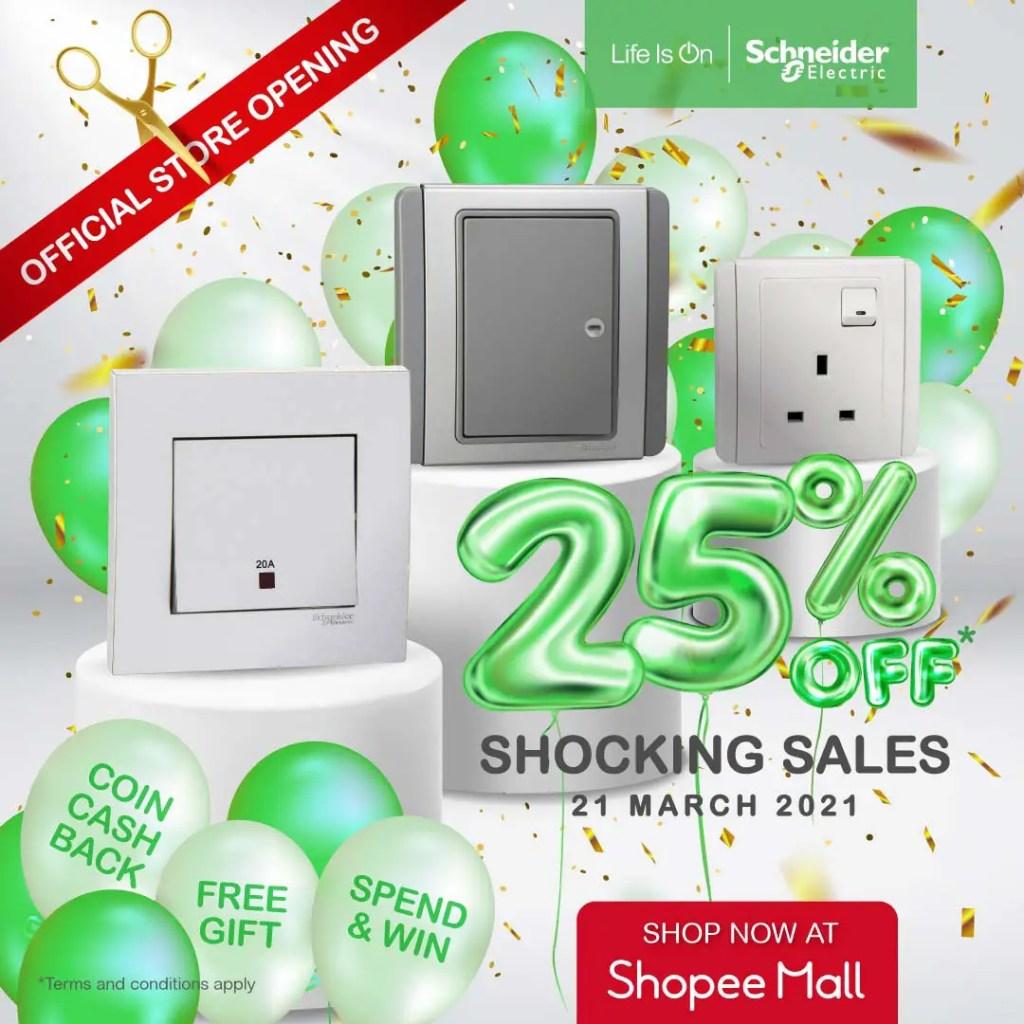 Schneider Electrics Shopee Mall