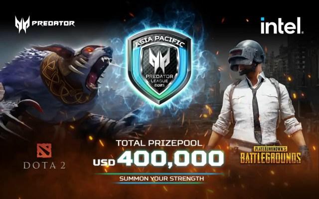 Acer Asia Pacific Predator League 2020 21