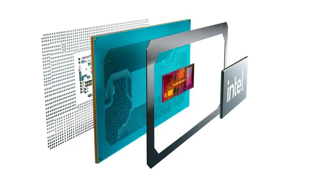 11th Gen Intel CPU Tiger Lake H Internal
