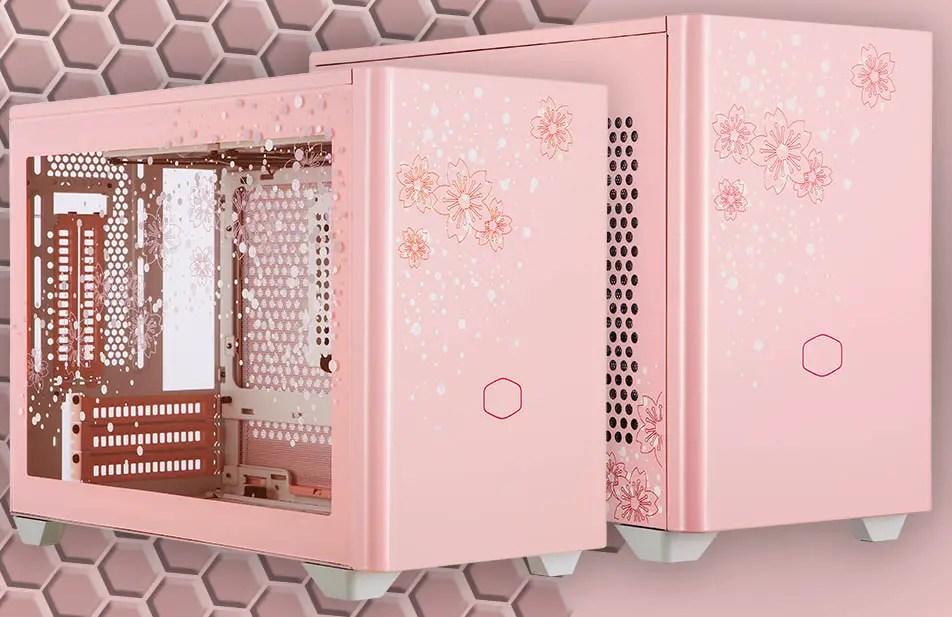 CoolerMaster MasterBox NR200P Sakura