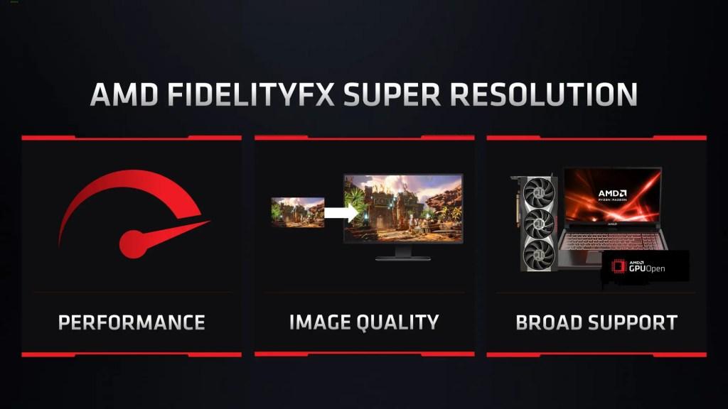 AMD FidelityFX Super Resolution Featured