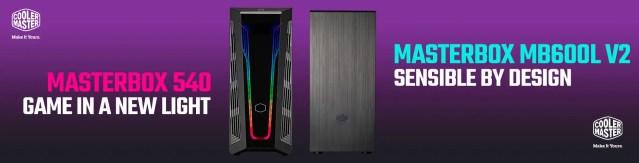 Cooler Master MasterBox 540 MB600L V2 Featured