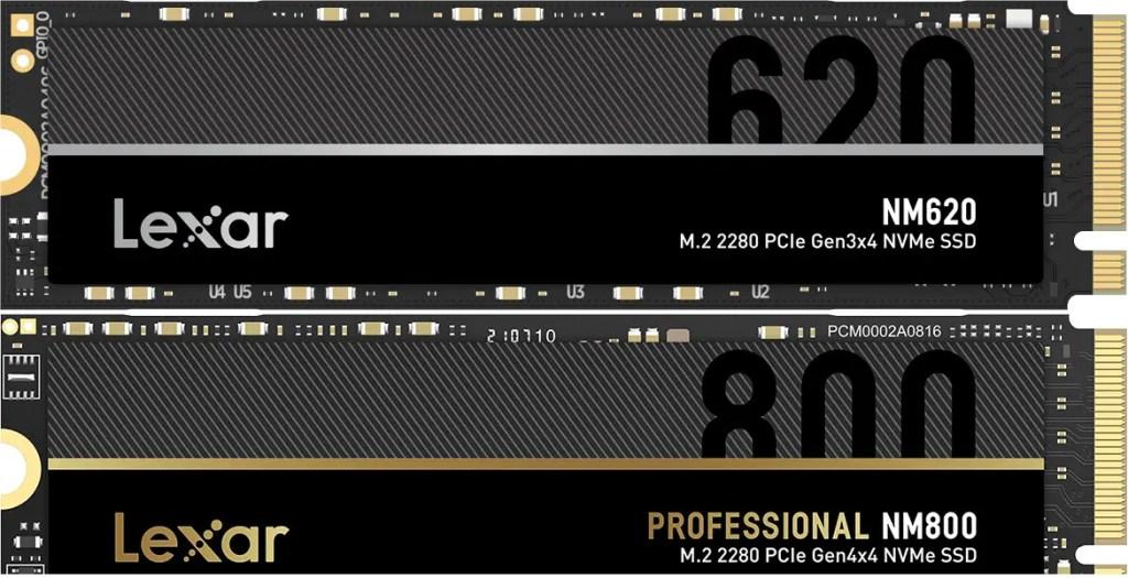 Lexar NM620 Professional NM800 NVMe SSD