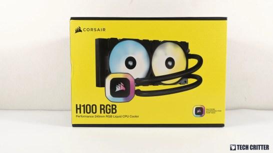 Corsair H100 RGB 1