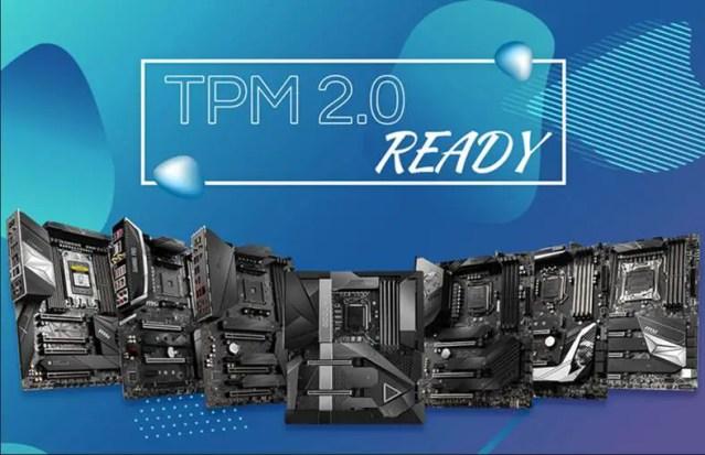 MSI TPM 2.0 Motherboard