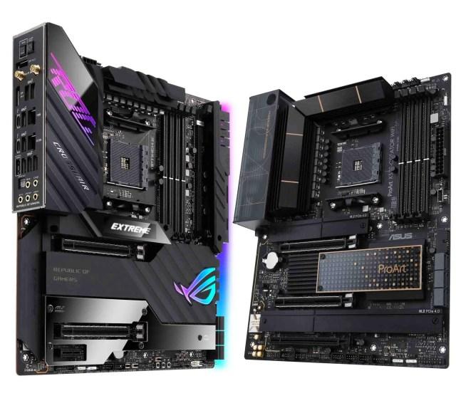 ASUS ROG CROSSHAIR VIII EXTREME ProArt X570 CREATOR Featured