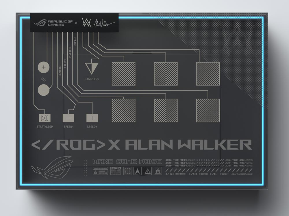 ASUS ROG x Alan Walker ROG Remix Package