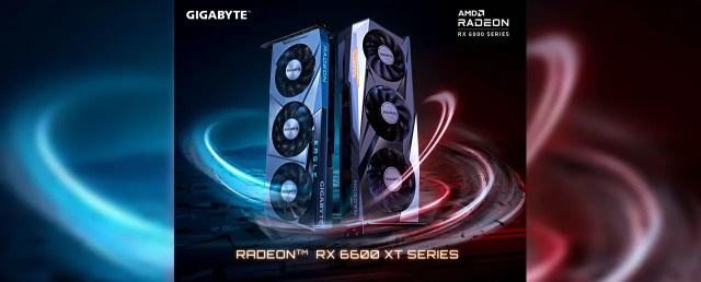 GIGABYTE Radeon RX 6600 XT Series Featured