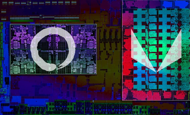 AMD Ryzen 2nd Gen Mobile CPU Die Featured