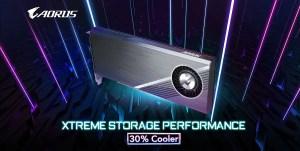 AORUS Gen 4 NVMe AIC 8TB SSD Featured