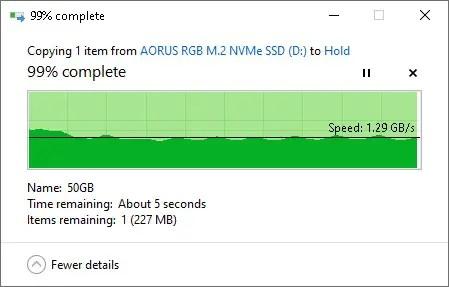 AORUS RGB M.2 NVMe SSD