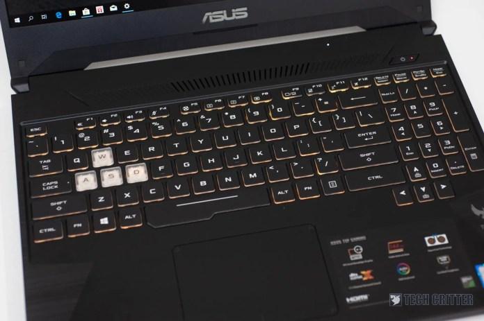 Review - ASUS TUF Gaming FX505 (i7-8750H, GTX 1060, 8GB, 128GB SSD +