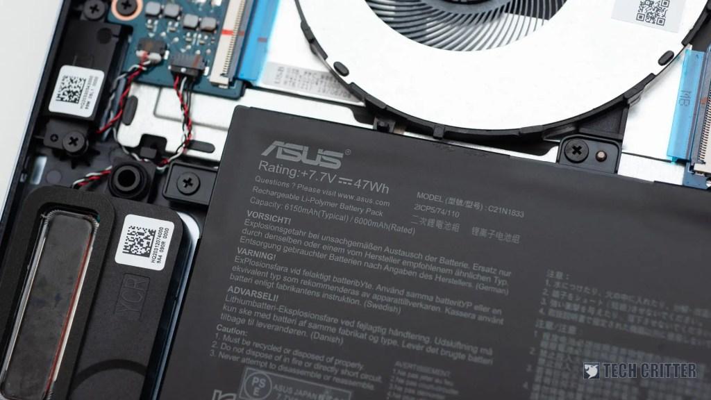 Review - ASUS ZenBook 14 UM431D (R5-3500U, Radeon Vega 8, 8GB DDR4-2400, 512GB PCIe Gen3x2) 50