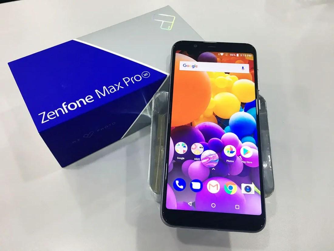 ASUS ZenFone Max Pro (M1) box