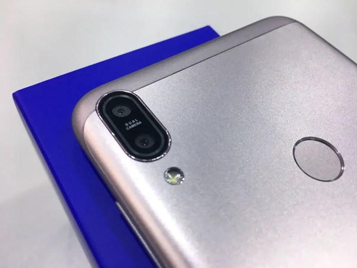 ASUS ZenFone Max Pro (M1) dual camera fingerprint sensor