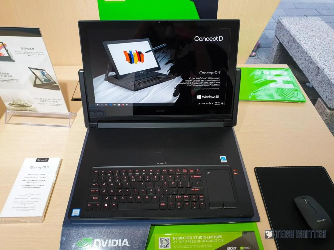 Acer ConceptD 9 Computex 2019 (2)