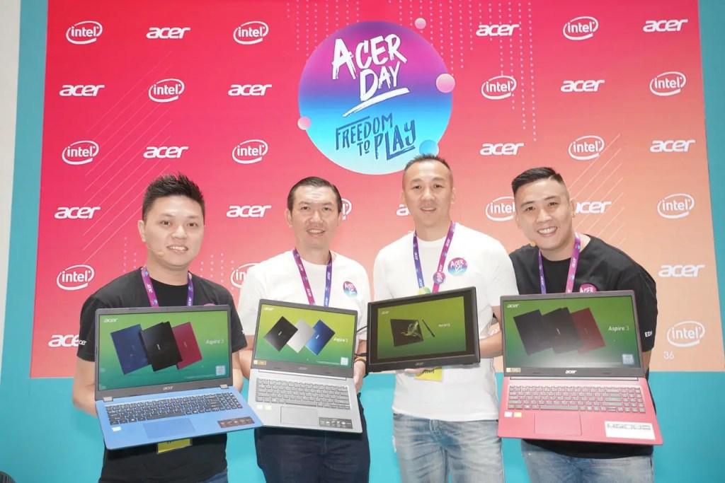 Acer Day 2019, Acer Aspire 3, Acer Aspire 5, Acer PM161Q