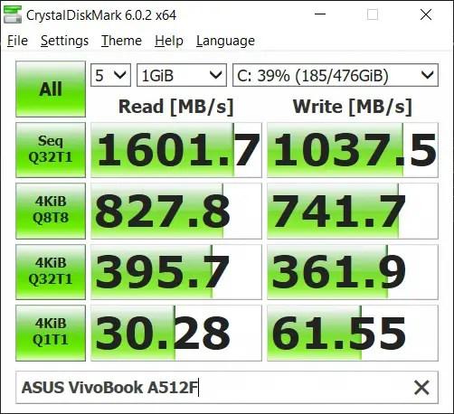 Review - ASUS VivoBook Ultra A512 54