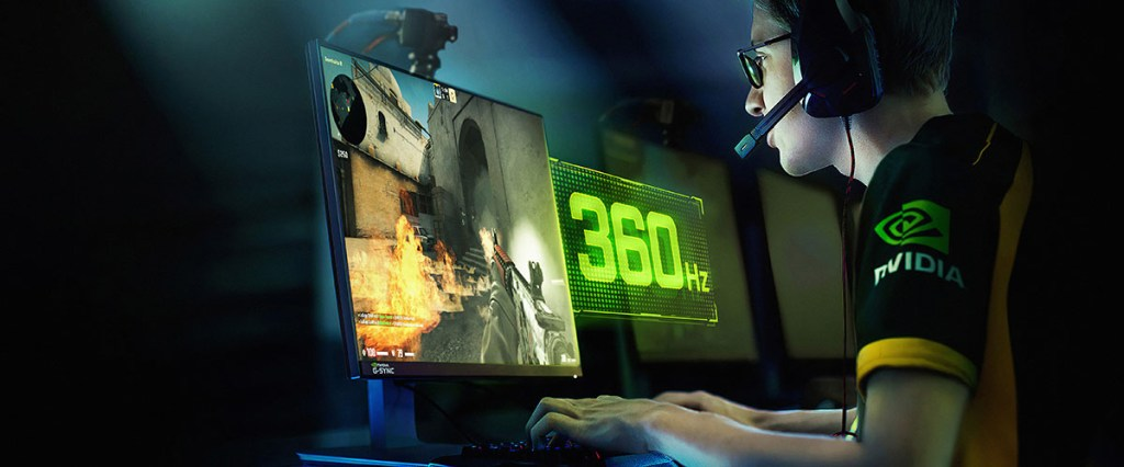 CES 2020 NVIDIA G-SYNC 360Hz ASUS ROG Swift 360