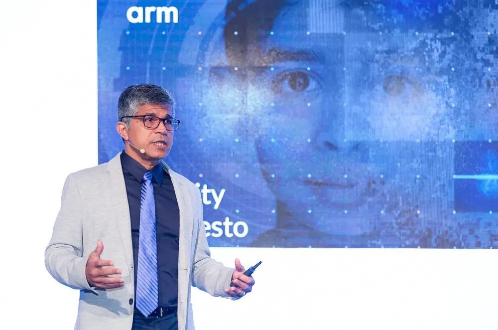 Computex 2018 ARM Cortex A76 Mali G76 Mali V76 Nandan Nayampally