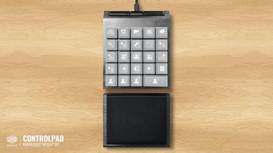 Cooler Master ControlPad Kickstarter Radiologist