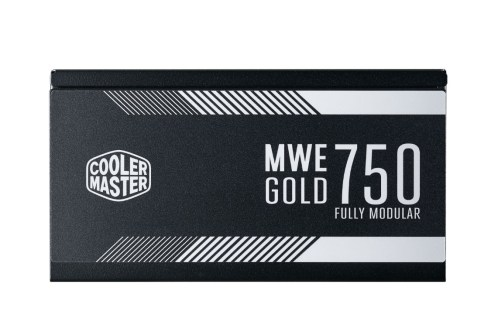 Cooler Master MWE Gold Series Power Supply MWE Gold 750 Fully Modular