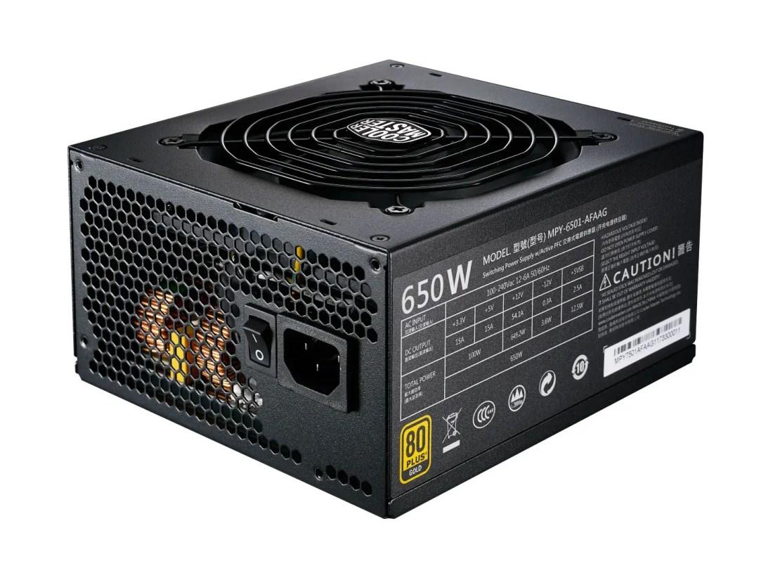 Cooler Master MWE Gold Series Power Supply MWE Gold Fully Modular (3)