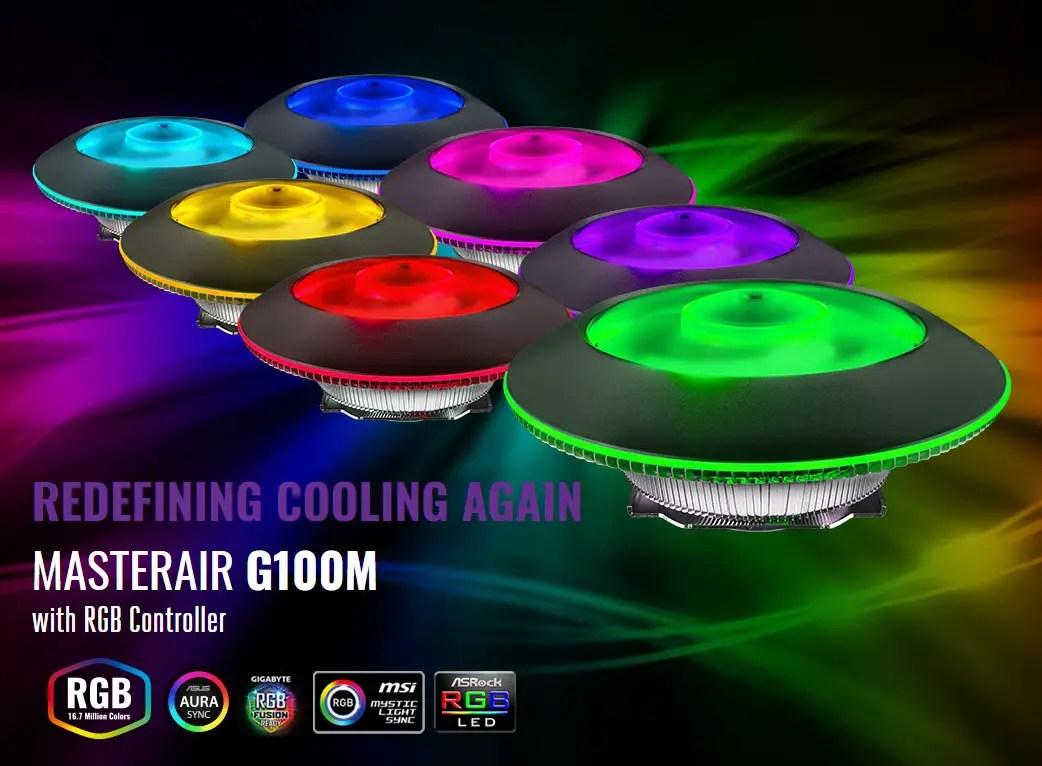 Cooler Master Announces The MasterAir G100M At RM 149