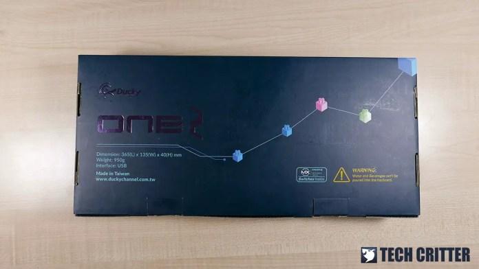 Ducky One 2 RGB TKL RGB LED Double Shot PBT Mechanical Keyboard (2)