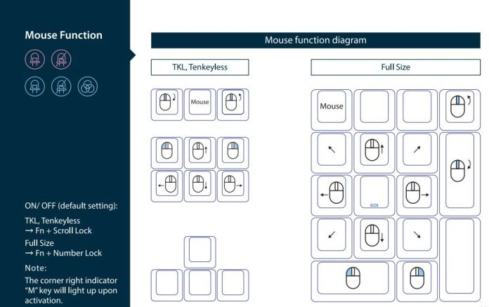 Ducky One 2 RGB TKL RGB LED Double Shot PBT Mechanical Keyboard Mouse Key Function (1)
