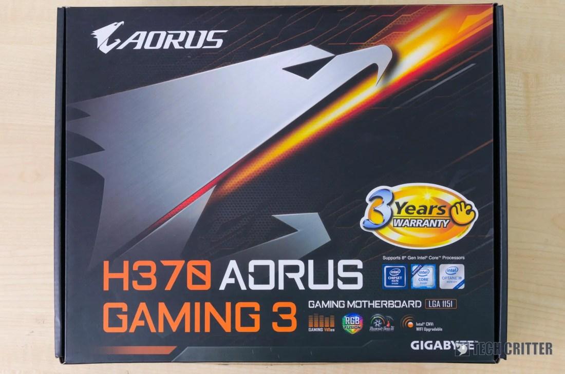 Gigabyte Aorus H370 Gaming 3 (1)