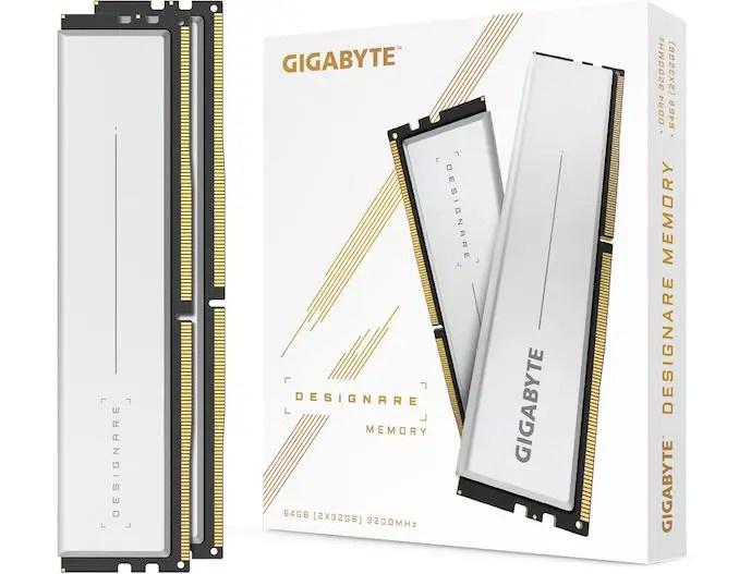 Gigabyte Designare DDR4 memory kit DDR4-3200 CL16-18-18-38 (3)