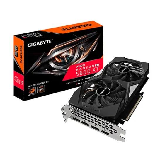 Gigabyte Radeon RX 5600 XT WINDFORCE OC 6G