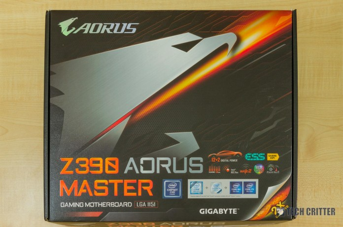 Unboxing & First Look - Gigabyte Z390 AORUS Master Motherboard