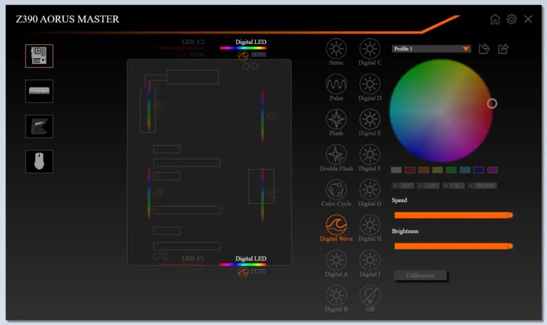 Gigabyte Z390 AORUS Master RGB Fusion