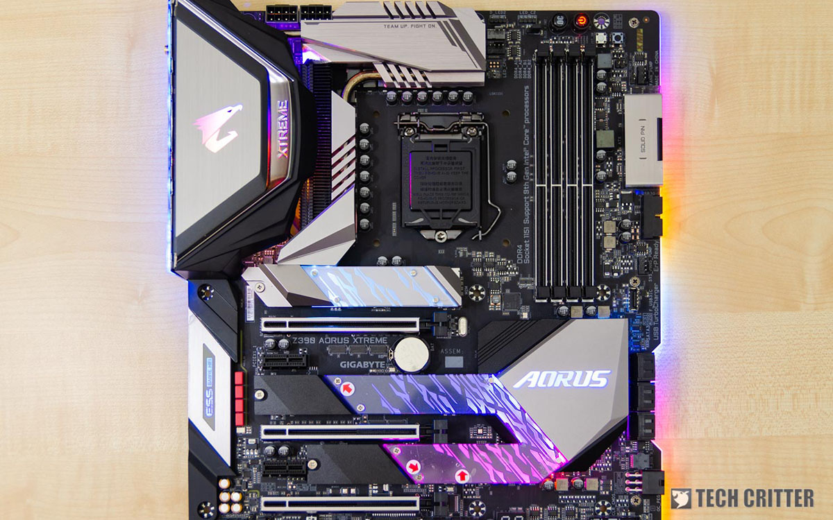 Unboxing & Review - Gigabyte Z390 AORUS XTREME Motherboard