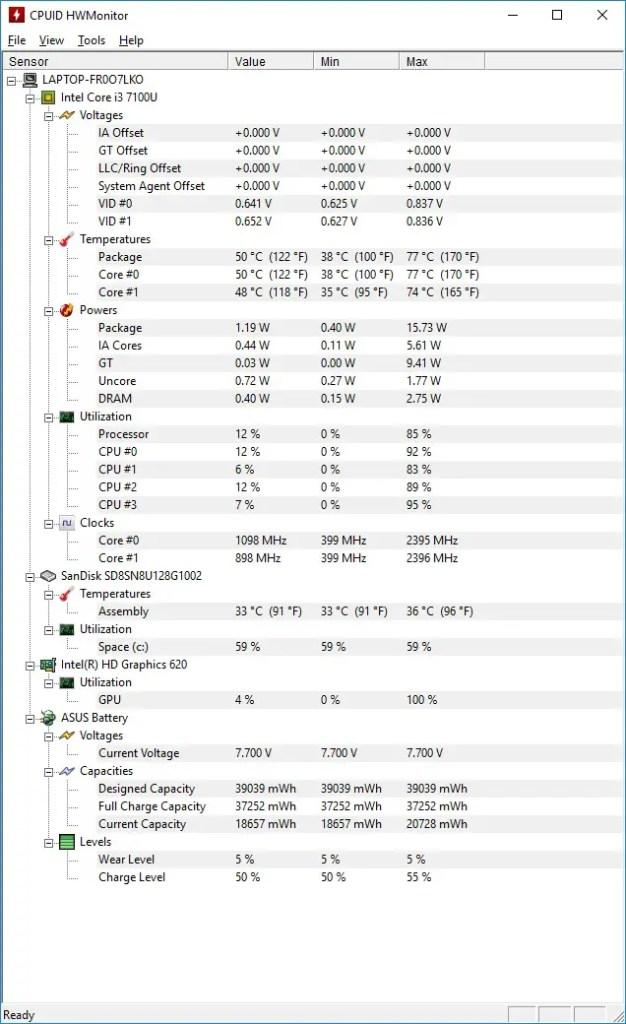 Review - ASUS VivoBook S14 (S406U) Notebook (i3-7100U, 4GB, 128GB/256GB SSD) 3