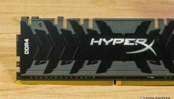 HyperX showcases new design for Fury DDR4 RGB memory kit