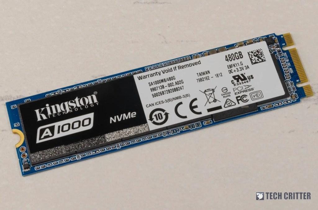 Kingston A1000 NVMe M.2 2280 SSD