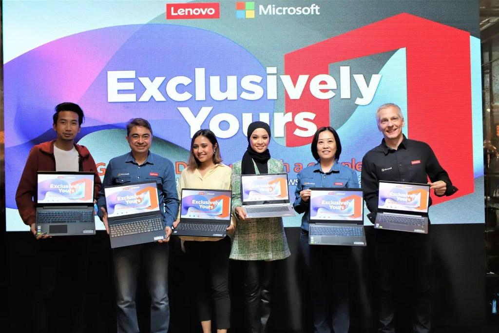 Lenovo x Microsoft
