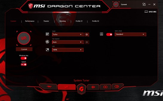 MSI Dragon Center - 02