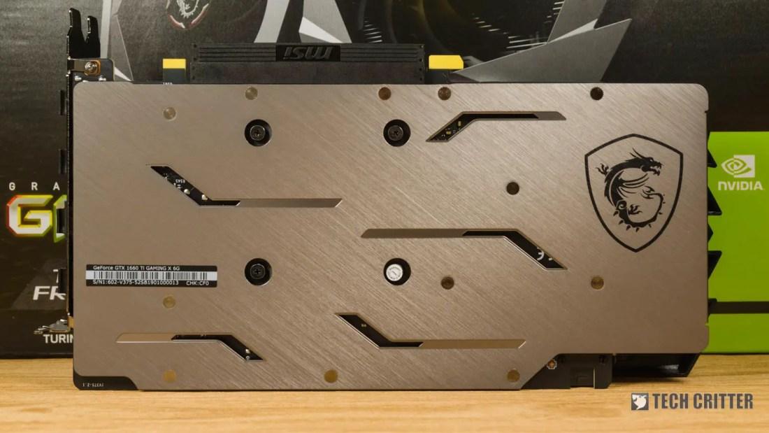 Review: MSI GeForce GTX 1660 Ti Gaming X 6G 3