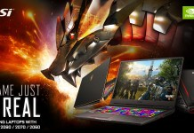MSI GeForce RTX Gaming Notebooks Featured