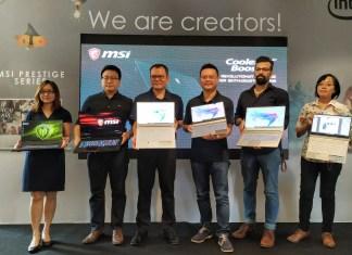 MSI Prestige Series Launch