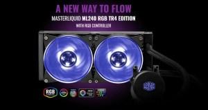 MasterLiquid ML240 RGB TR4 Edition Featured
