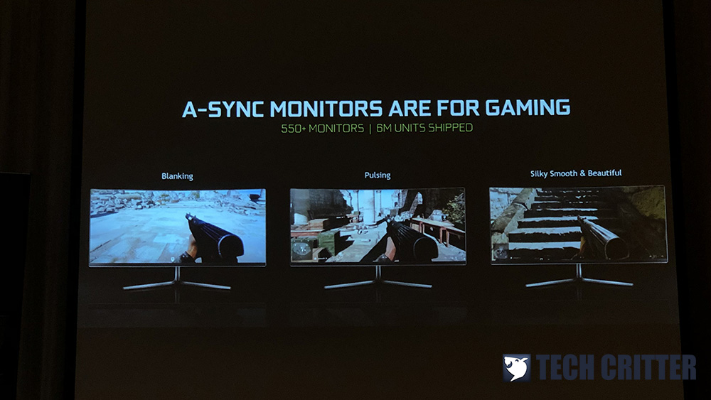 NVIDIA expands its list of G-SYNC compatible FreeSync monitors