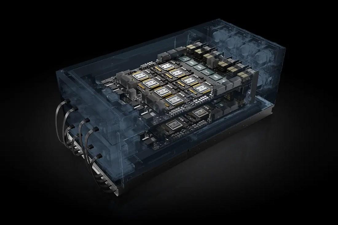 NVIDIA HGX-2 HPC AI Computing Featured