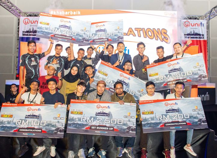 Winners of PUBG Mobile